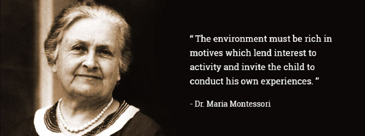a life of maria montessori in school Numerous montessori schools were established and maintained throughout  various  maria montessori devoted her life to the improvement of education of.
